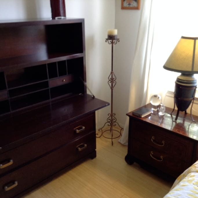 Attractive secretary with draws for work and additional storage