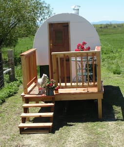 Antique Montana Sheepherder's Wagon - Belgrade - Otros
