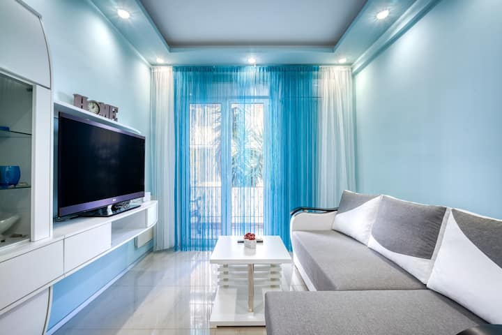 Unique 2bd apartment at Athenian Riviera