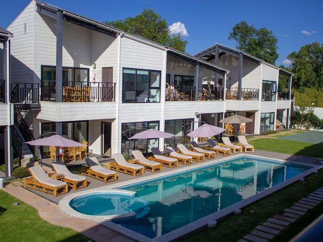 Villa Familiar c/ Roof Garden 4 pers 2hab 2baños