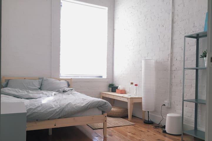 Cozy comfortable loft in Williamsburg/Greenpoint - Brooklyn - Apartment
