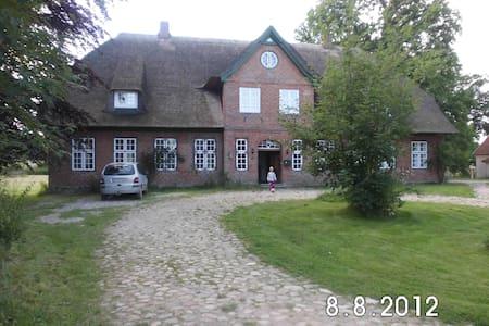 Idyllisches Reetdachhaus - Wangels - บ้าน