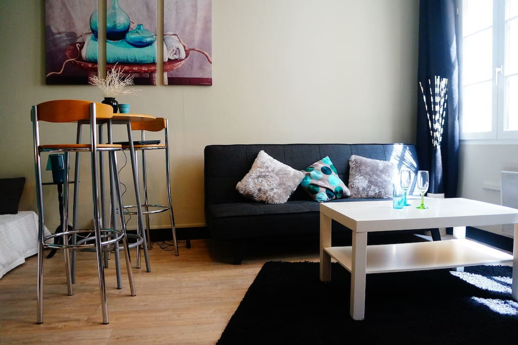 BestHomeNiort - Appartement Océane - STUDIO COSY + HYPER CENTRE + PARKING + LINGE FOURNI