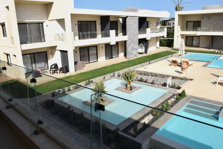 Modern Studio G-Cribs El Gouna with big balcony F9