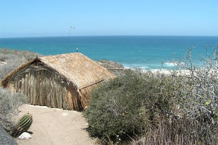 All Solar Palapa • Shipwrecks Break - San Jose Del Cabo - 小屋
