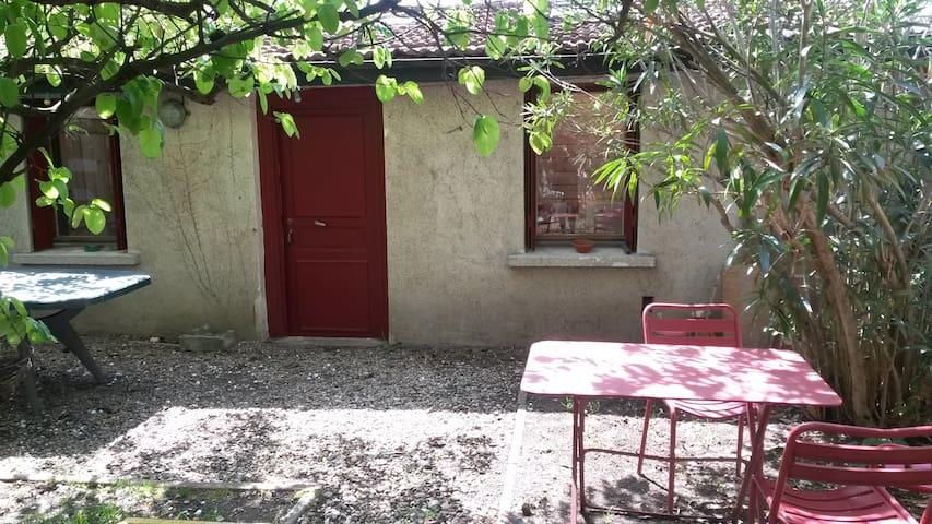 maison charmante avec jardin
