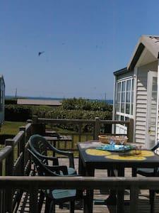 Grand bungalow avec vue sur mer à Kerlouan - Bungalow