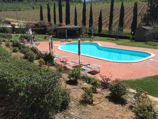Agriturismo Toscana app. Mirtillo - San Miniato - Apartament