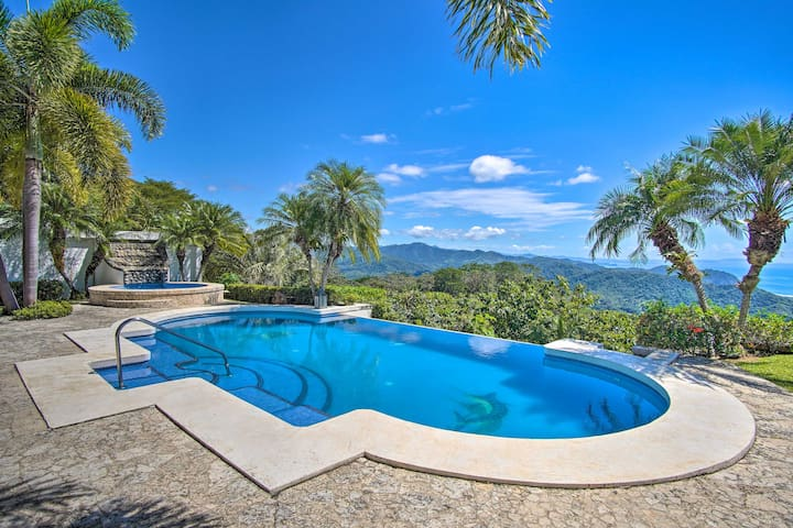 NEW! Paradise on the Hillside: Pool + Ocean View!