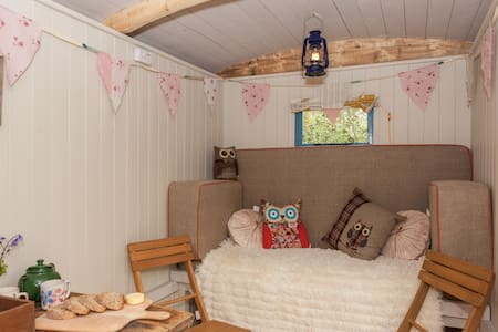 Shepherds Hut in Purbeck Woodland . - Wareham - Chata
