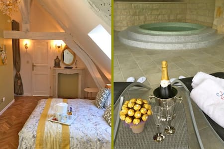 Maison Elincourt & SPA: Room Sarah - Élincourt-Sainte-Marguerite