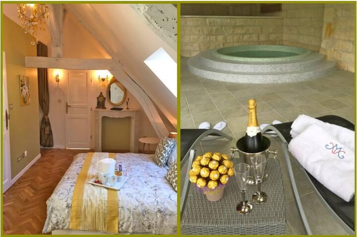 Maison Elincourt & SPA: Room Sarah
