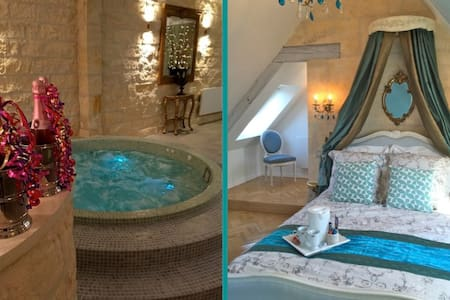 Maison Elincourt & SPA: Room Lucy - Penzion (B&B)