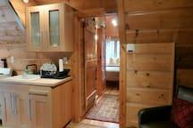 Living room / kitchen / hall