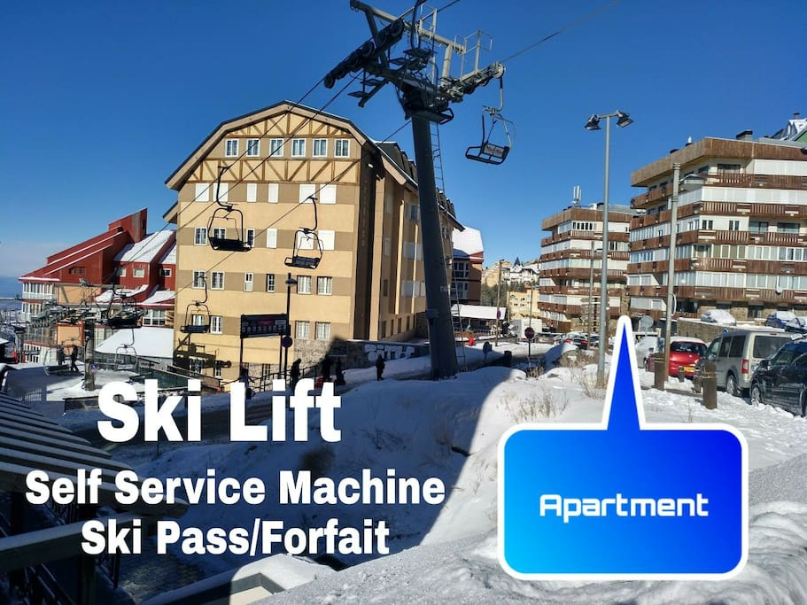 First Stop Ski Lift