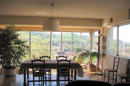 Appartement calme, vue panoramique, 100m2 - Aurillac