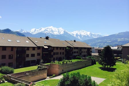 Room with view of Mont Blanc - Sallanches