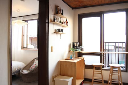 Cute 2 BR @ Itaewon /pocket wifi - Yongsan-gu - Apartment