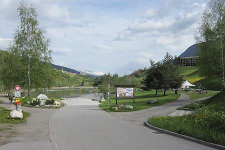 Wohnung direkt bei Bergbahn und See - Savognin