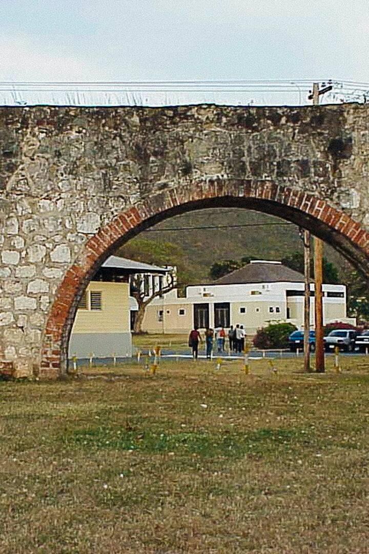 Historic Mona Estate Aqueduct