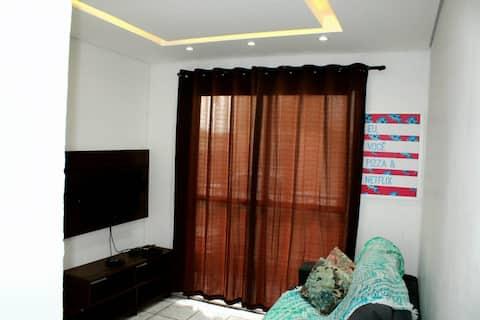 Apartamento em Mongaguá no Agenor de Campos