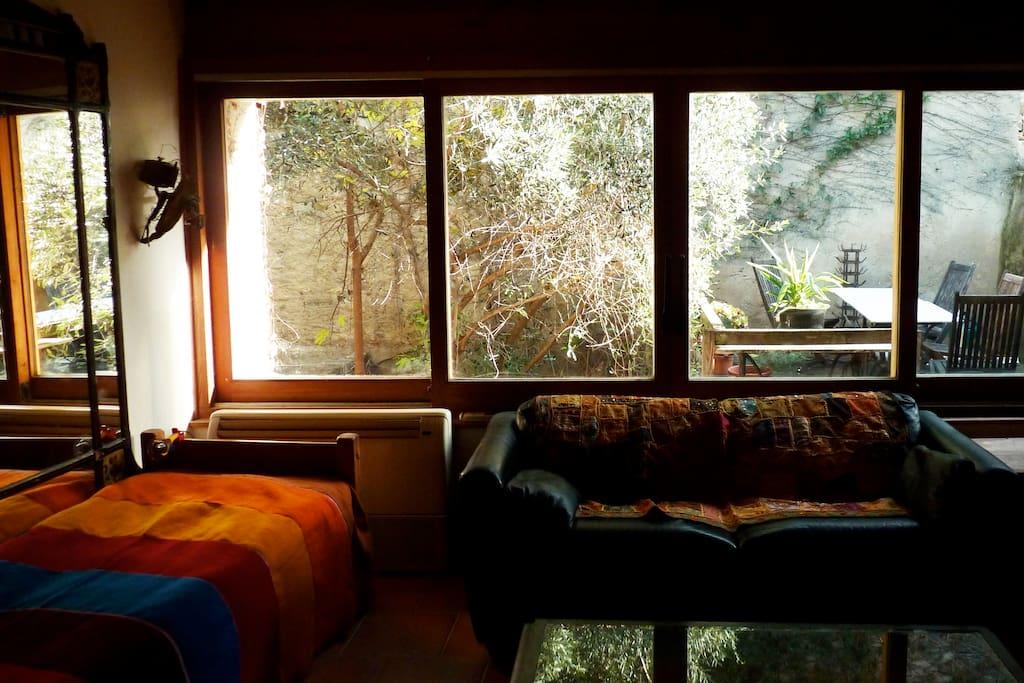 the sliding windows