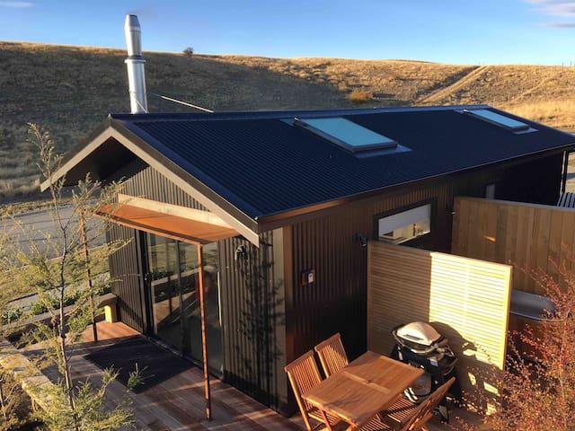 Skylight House with luxury cedar outdoor bath#