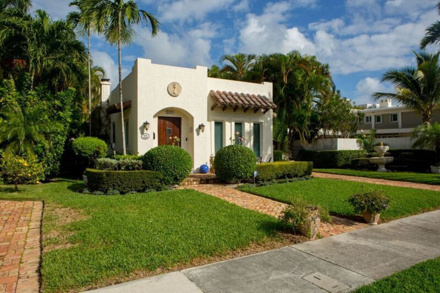 Completely renovated home built in 1920's Mediterranean Revival/Spanish Eclectic style.
