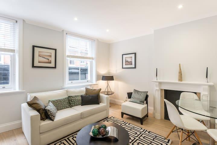 Modern one bed flat in Kensington