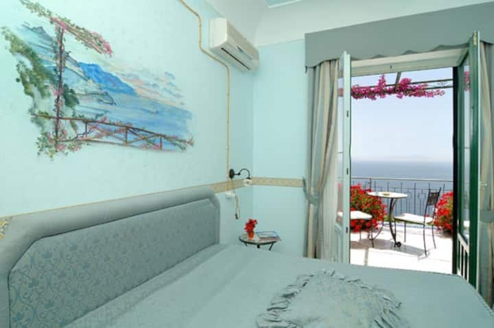 Double room - terrace and sea view