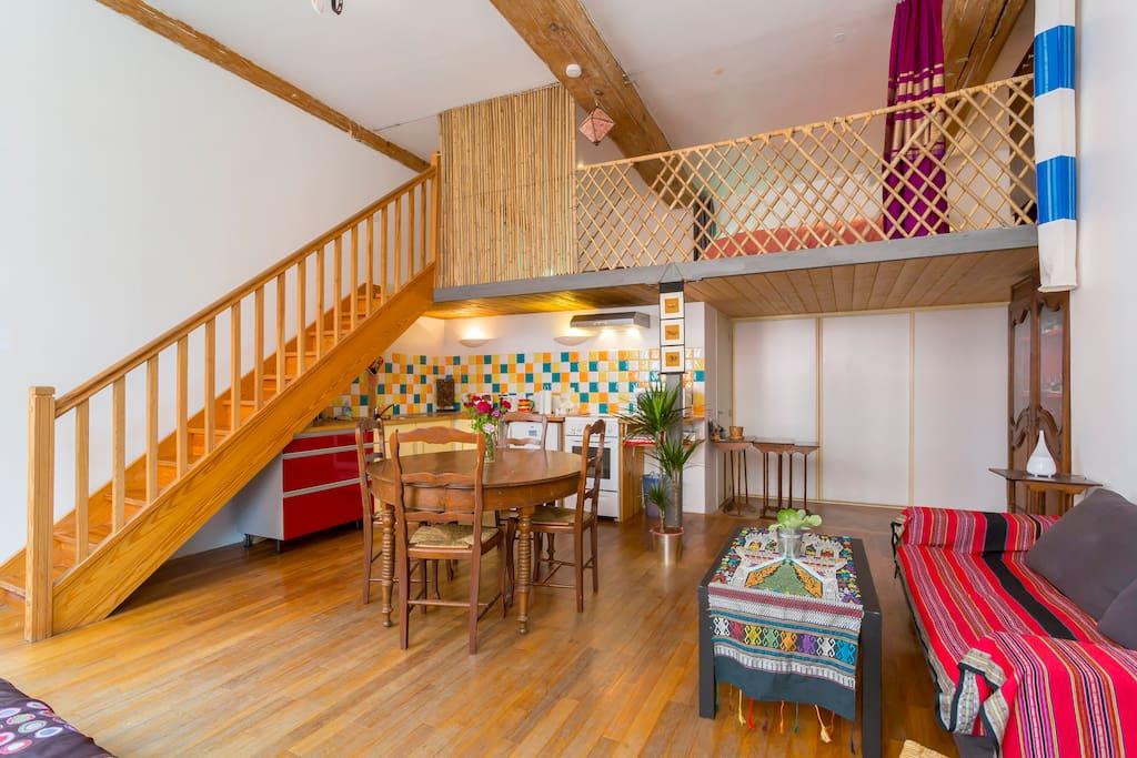 beau canut c t du gros cailloux flats for rent in lyon rh ne alpes france. Black Bedroom Furniture Sets. Home Design Ideas