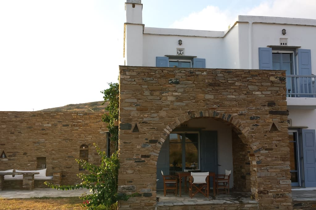 Outside View of the house