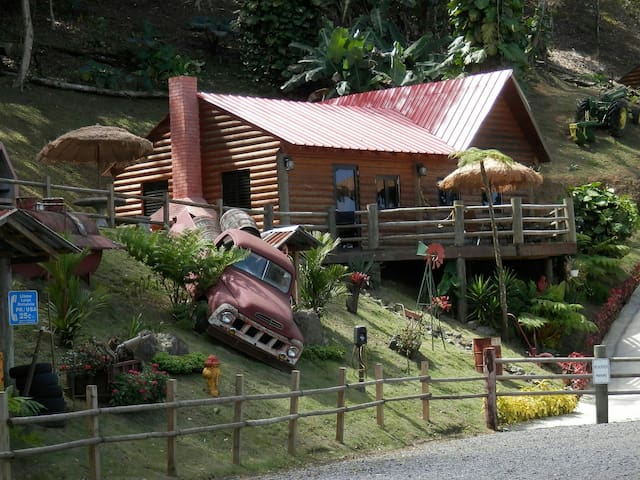 Hard Rok Village -  5 Cabins w/Pool - Orocovis - Srub
