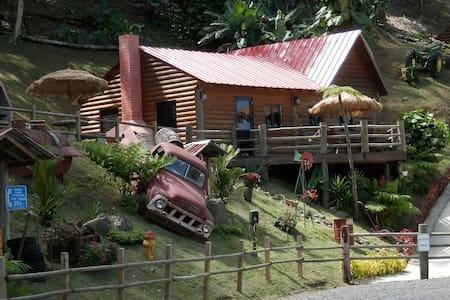 Hard Rok Village -  5 Cabins w/Pool - Orocovis