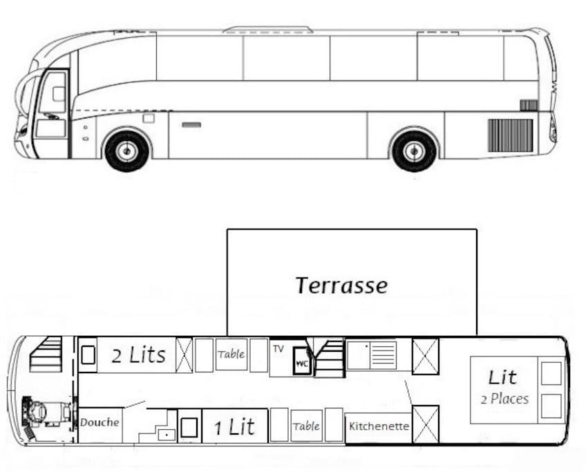Plan du Bus