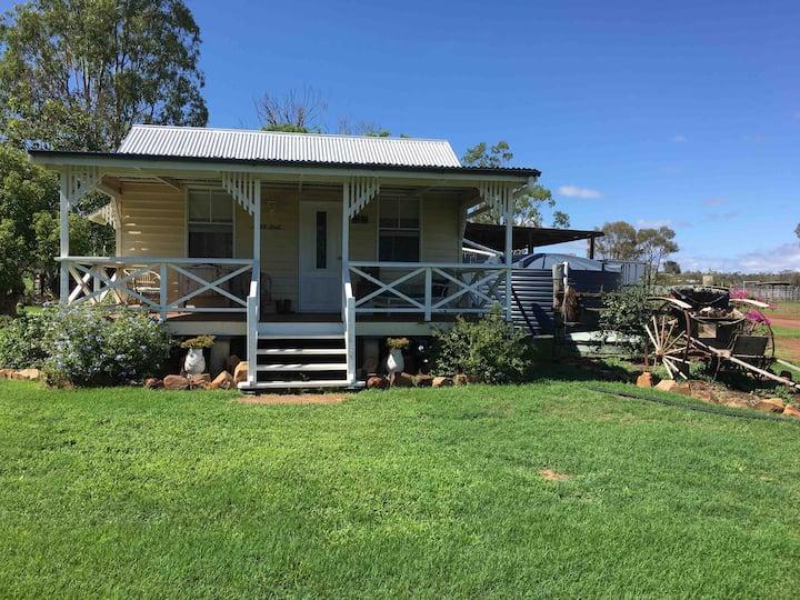 A unique, charming cottage for a couple's retreat