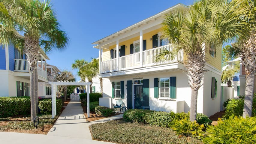 Sandy Toes-2BR-30A- Apr 7 to (Phone number hidden by Airbnb) yds 2 Seagrove Beach-Updated-Comm.Pool