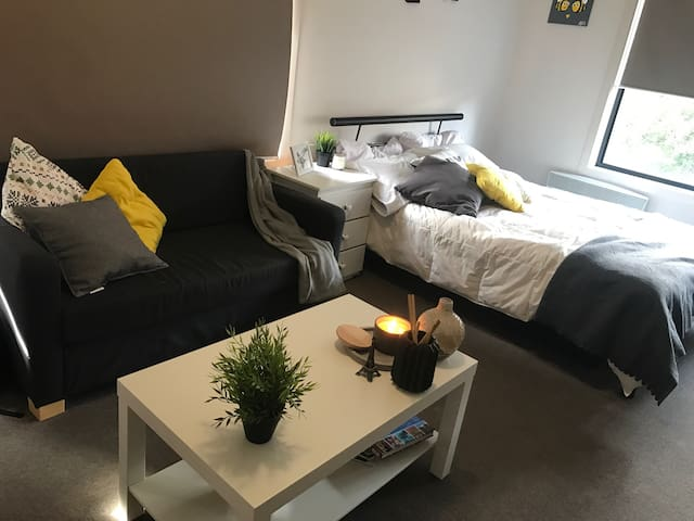 Great Studio 15 min from the city - Footscray - Daire