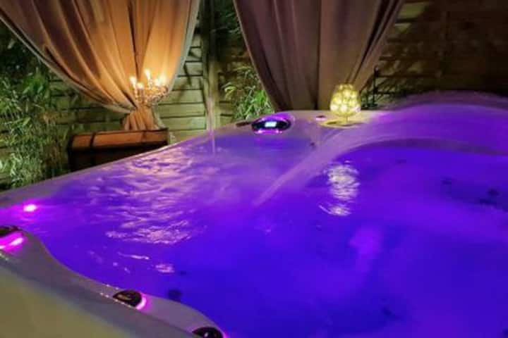 Suite appartement jacuzzi