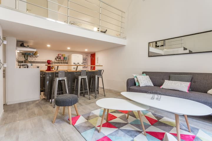 CÉZANNE'S DUPLEX - Lovely flat at the heart of Aix