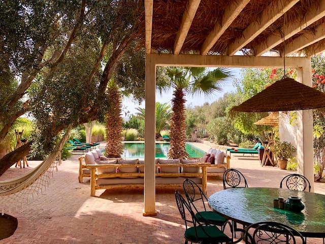 Baboucha, villa ethnic chic à Essaouira