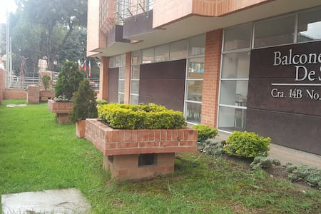 Cofortable apartament, best located. - Bogotá - Huoneisto