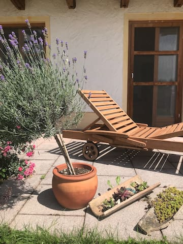 Gartenwohnung im Chiemgau