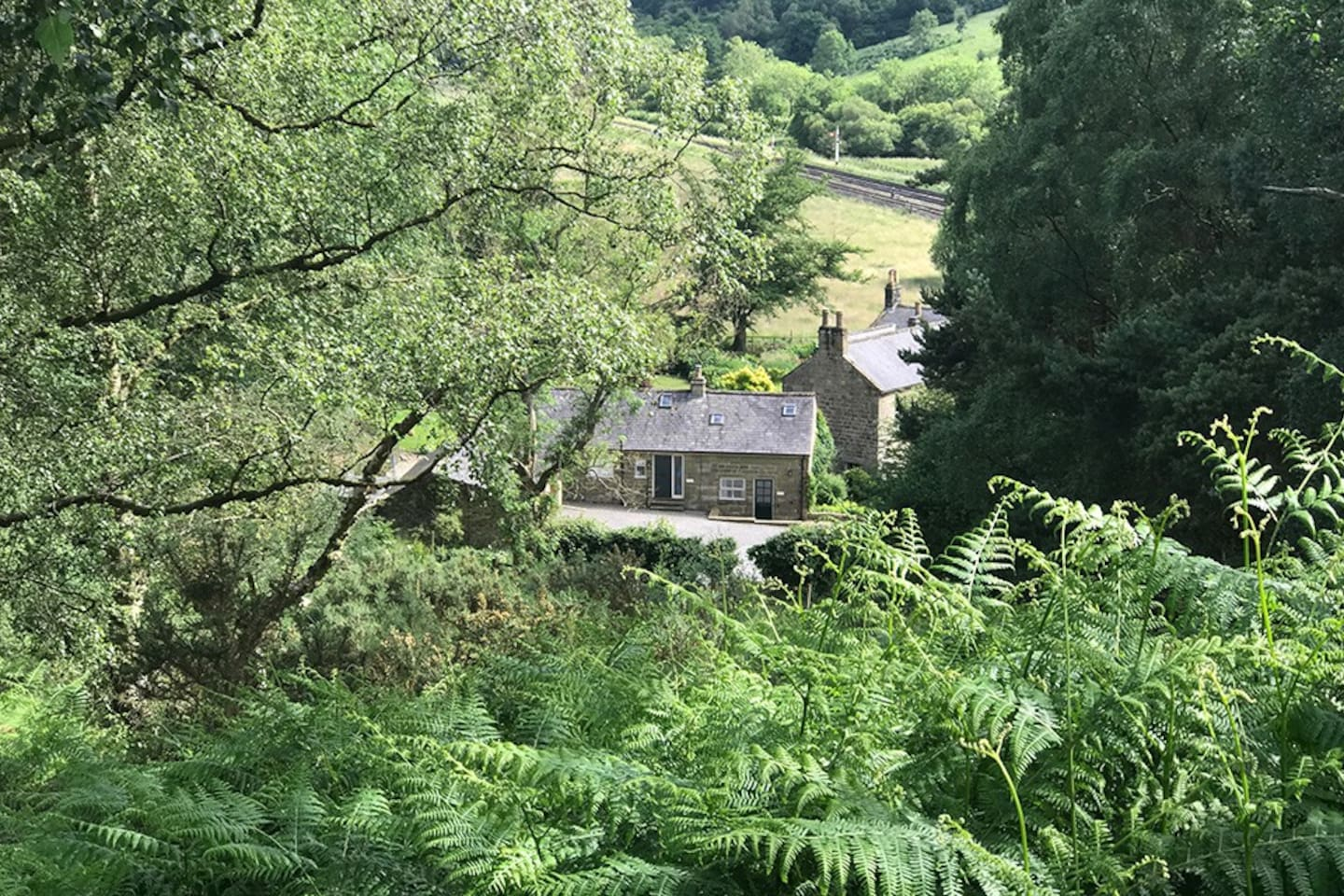 Grove House Levisham Holiday Cottages are nestled down in Newtondale Valley, by Levisham Station  in the heart of the North  York Moors National Park.