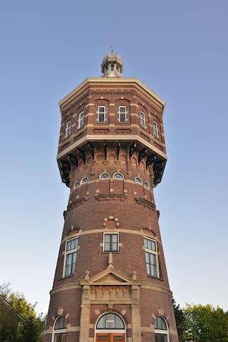 Watertower Vlissingen (luxury holiday home)