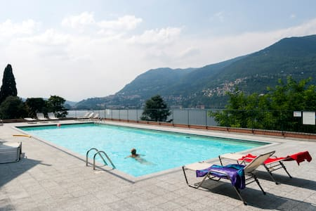 Flat with pool in Blevio -Como lake - Blevio