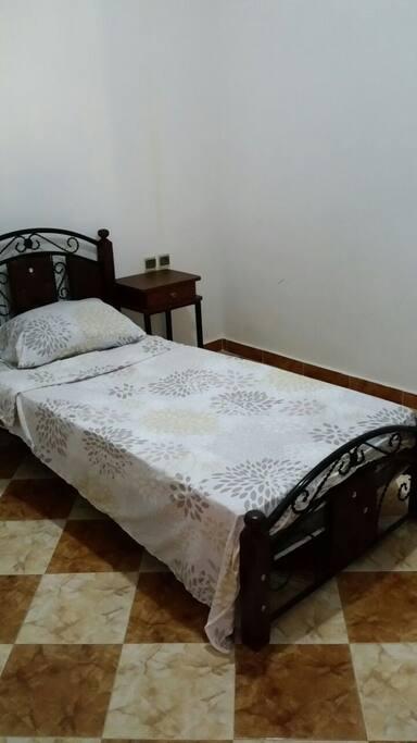 eenpersoons slaapkamer