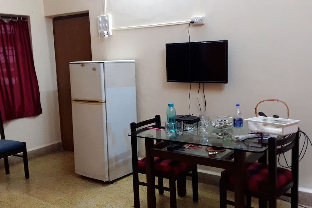 Living Room 2 bHK Apartment