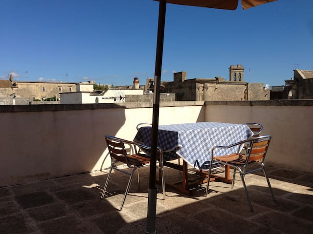 Salento Tricase old town - Flat with large terrace - Tricase - Apartament