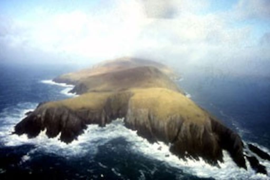 Ariel view of Dursey Island from the south-west